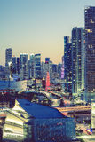 Miami, special photographic processing Stock Photos