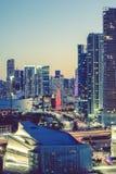 Miami, speciale fotografische verwerking Stock Foto's