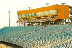 Homestead Miami Speedway Grandstand Royalty Free Stock Photography