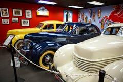 Miami ställer ut det auto museet en samling av tappning- och bioau Royaltyfri Foto