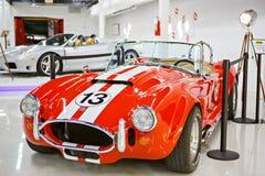 Miami ställer ut det auto museet en samling av tappning- och bioau Royaltyfria Bilder