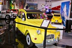 Miami ställer ut det auto museet en samling av tappning- och bioau Royaltyfri Bild