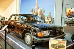 Miami ställer ut det auto museet en samling av tappning- och bioau Arkivbild
