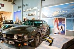 Miami ställer ut det auto museet en samling av tappning- och bioau Arkivfoto