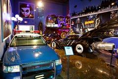 Miami ställer ut det auto museet en samling av tappning- och biobilar, cyklar och motorcyklar Fotografering för Bildbyråer