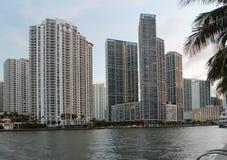 Miami stad Scape Arkivfoto