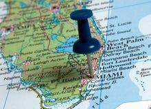 Miami-Stadt stockfoto