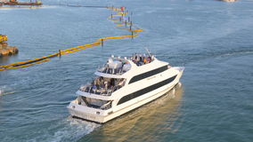 Miami summer dusk yacht traffic water way 4k florida usa. Usa miami summer dusk yacht traffic water way 4k florida stock footage