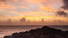 Miami Sunrise Royalty Free Stock Images