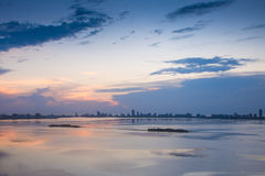 Miami After Sunset Royalty Free Stock Image