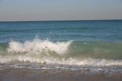 Miami Surf and spray Stock Photo