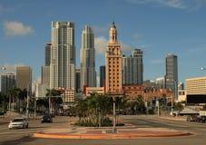 Miami tower wolności Obrazy Royalty Free