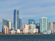 Miami urban architecture Stock Images