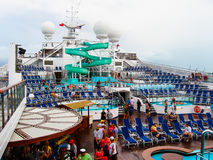 Miami, USA - January 5, 2014: Carnival Glory Cruise Ship Royalty Free Stock Image