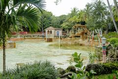 Venetian Pool In Coral Gables Stock Image Image Of Flora Holiday 2444835