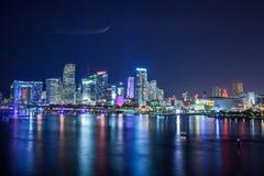 Miami van de binnenstad royalty-vrije stock afbeeldingen