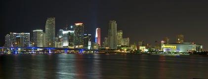 Miami van de binnenstad Stock Foto