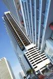 Miami van de binnenstad Brickell Royalty-vrije Stock Fotografie