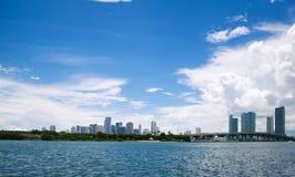 Miami view Stock Photography