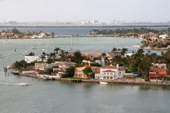 Miami by the Water Stock Photography