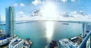 Miami widok 2019 zdjęcia stock