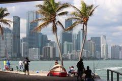 Miami Zeer belangrijke Biscayne royalty-vrije stock foto