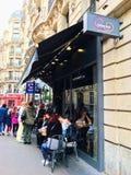 Ресторан азиата Парижа вентилятора Mian Стоковая Фотография
