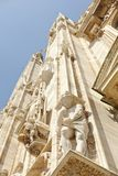 Mian Cathedral detail Royalty Free Stock Images