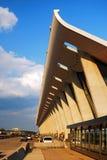 Mian Terminal, aéroport international de Dulles Photographie stock