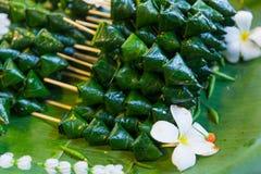 Miang西康省开胃菜泰国皇家食物 库存照片