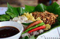 Miang Kam-thaifood Immagine Stock