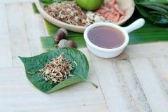 Miang Kham - liścia opakunku zakąska jest wyśmienicie Obraz Stock