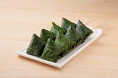 Miang Kham or Savoury Leaf Wraps Stock Photos