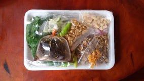 Miang-kham thai food Stock Photo