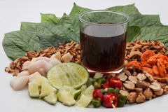 Miang Kham Thailand Dessert Royalty Free Stock Photography