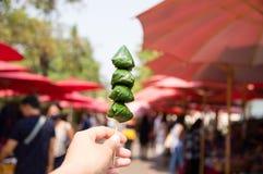 A Royal Leaf wrap Appetizer Miang Kham stock photos