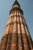 Mianr de Qutub, Delhi, Inde Photos libres de droits