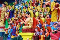 Mianyang, China: Buddha-Skulptur-Verzeichnisse lizenzfreie stockfotos