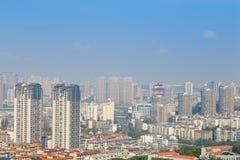 Mianyang,china, city panorama Royalty Free Stock Images