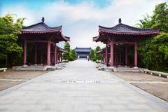 Mianyang miasto, miasto rodzinne Li Bai Obrazy Royalty Free