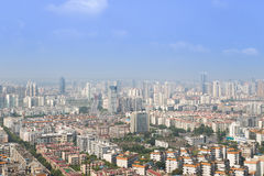 Mianyang panorama Royalty Free Stock Photo
