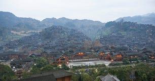 Miao-Dorf Stockbild