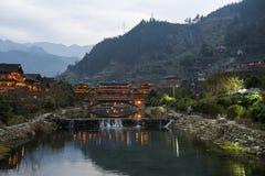 Miao-Dorf Stockbilder