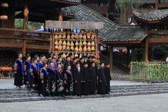 Miao minority in china Stock Photos