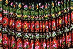 Miao nationalityskirt Fotografering för Bildbyråer