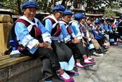 Miao and Naxi Women Royalty Free Stock Photo