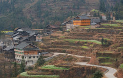 The Miao Village Stock Photos