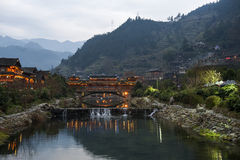 Miao village Stock Images