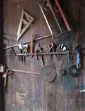 A Miao Wood Artisan's tools Stock Photography