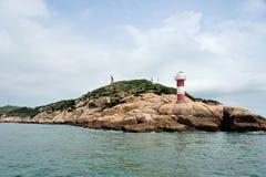 Miao zi hu island in Dongji Royalty Free Stock Photography